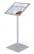 Outdoor LED Illuminated Menu Stand